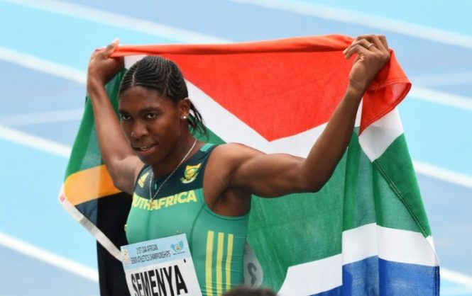 Countrywide support for Semenya