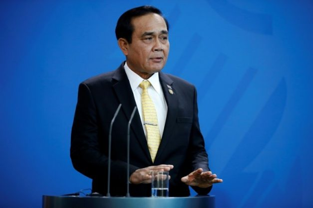 Thai Prime Minister General Prayut Chan-O-Cha, pictured here in November 2018, dismissed rumours of an impending coup as 'fake news'. AFP/File/Odd ANDERSEN