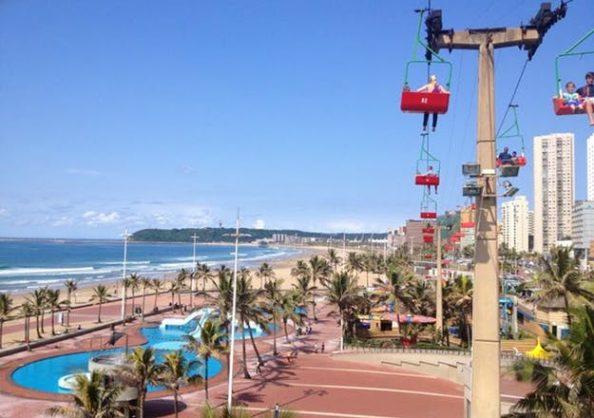Funworld is a beachfront amusement park in Durban, KZN. Image: Travel Ground website