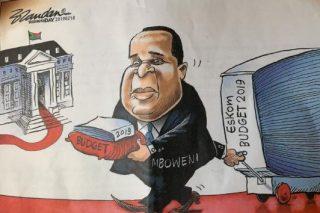 'Ku rough!' – Mboweni acknowledges his tough task ahead of budget speech