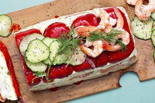 Recipe: Smoked salmon and prawn terrine
