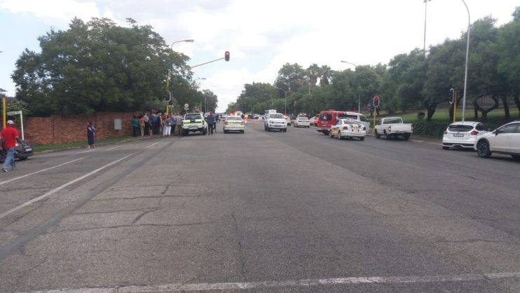 Two suspects killed, two arrested after robbery at Edenvale High School