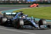 Hamilton on top as Ferrari struggle in season's first exchanges