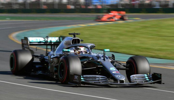 Hamilton on top as Ferrari struggle in season's first exchanges
