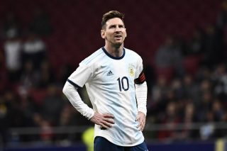 Messi focussing on positives as Argentina's Copa hopes hang by thread