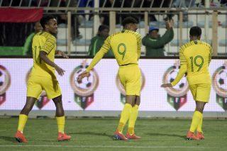 Tau brace books Bafana Afcon ticket