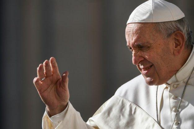 Pope Francis. AFP/Vincenzo PINTO