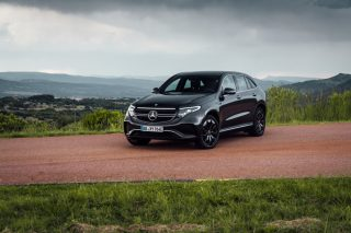 Mercedes-Benz fully electric EQC is adjusting to the electronic age
