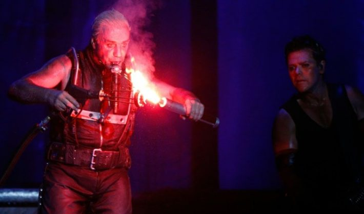 The industrial metal band is known for their taboo-breaking antics and theatrical stage shows heavy on pyrotechnics. DPA/AFP/File/Axel Heimken