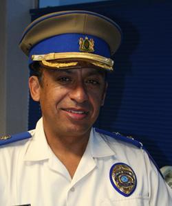 Wayne Minnaar of the Johannesburg metro police department.