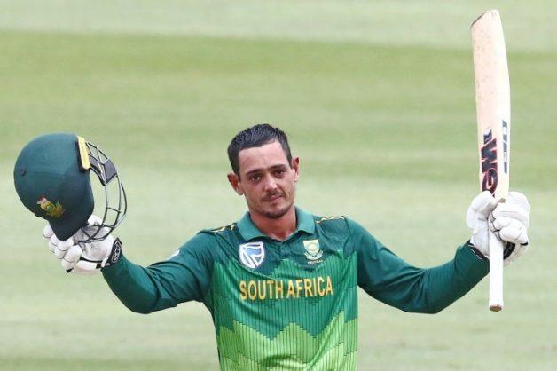 No Faf in ODIs as Quinton de Kock takes over reins