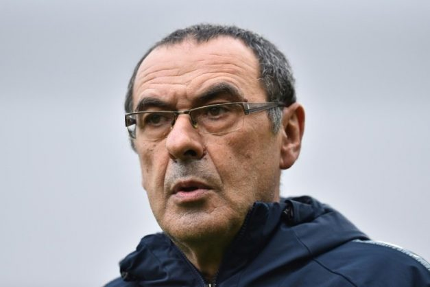 Maurizio Sarri insists he will still be at Chelsea next season. AFP/Glyn KIRK