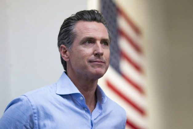 California Governor Gavin Newsom plans to sign an executive order to block the death penalty in his state. GETTY IMAGES NORTH AMERICA/AFP/File/Alex EDELMAN