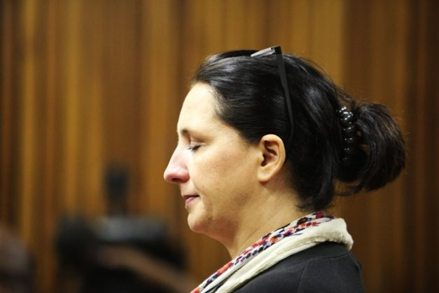 Convicted racist Vicky Momberg at the Randburg Magistrate's Court during sentencing in 2018. Picture: Nhlanhla Phillips / African News Agency / ANA