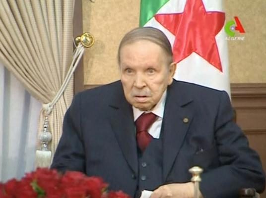 Algeria's 82-year-old President Abdelaziz Bouteflika