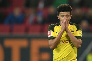 Dortmund discipline Sancho and drop teenager for Gladbach match
