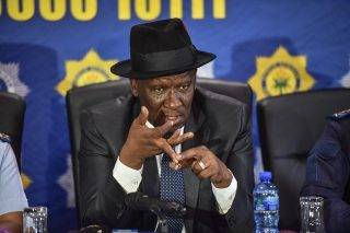 Violence erupts as Bheki Cele campaigns in KZN
