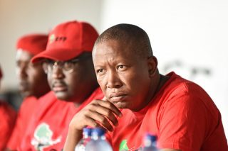 Malema calls his EFF members' actions 'the highest form of stupidity'