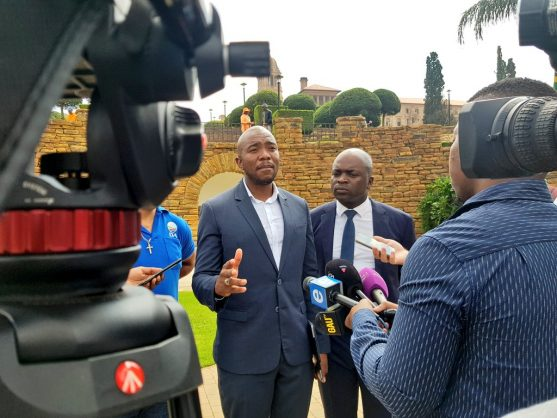 c633dd3ad Mmusi Maimane with Solly Msimanga at the Union Buildings. Picture   Twitter DA