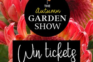 TICKETS TO THE AUTUMN GARDEN SHOW UP FOR GRABS!