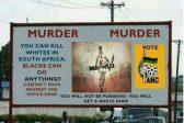ANC clarifies stance on fake 'Kill whites' billboard
