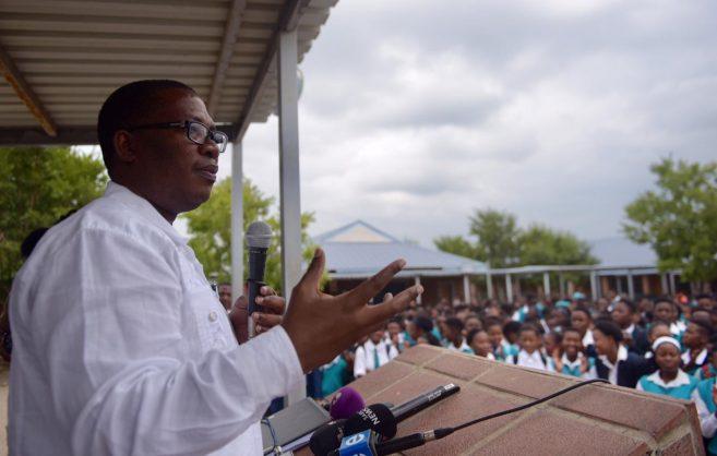 Gauteng Education MEC Panyaza Lesufi. Photo: Tracy Lee Stark.