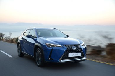 Be rad, join the crossover fad with the Lexus UX