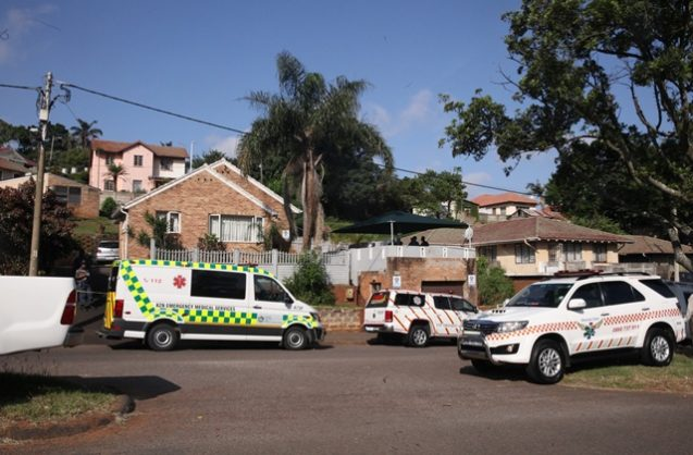 Two adults and three children from one family have been shot dead in Montclair Durban, 6 March 2019. Picture: Nqobile Mbonambi / African News Agency (ANA)