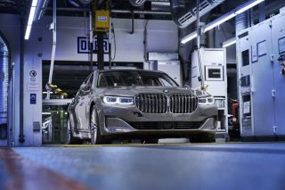 BMW begins production for 7 Series