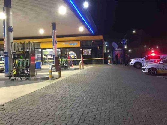 Sasol garage in Krugersdorp bombed and robbed