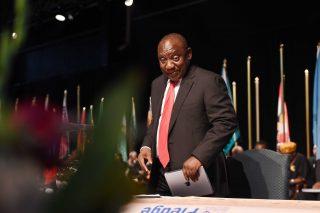 Ramaphosa briefly fools SA into thinking his account was hacked