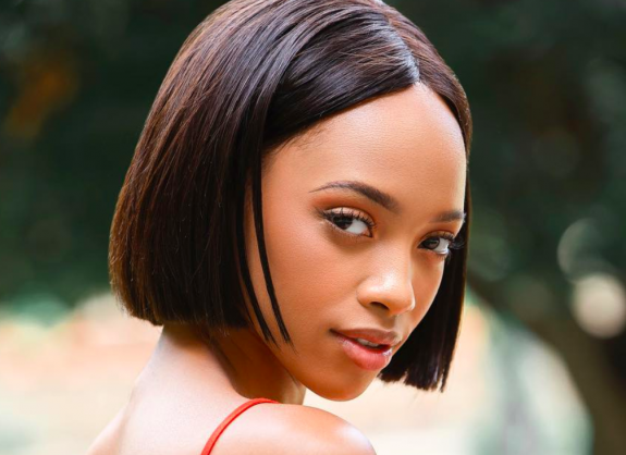 The model who appeared in a ANC 2019 social media campaign video, Rethabile Lethoko | Image: Instagram