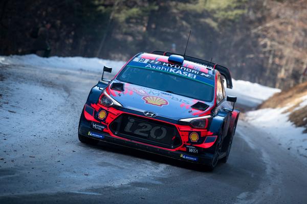 THE LEGEND RETURNS. Sebastian Loeb rejoins the Hyundai team for the weekend's Rally Corsica. Picture: Hyundai