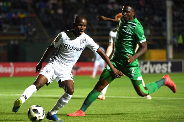 Terrence Dzvukamanja of Wits during the Absa Premiership match between Bidvest Wits and Bloemfontein Celtic. (Photo by Lee Warren/Gallo Images)