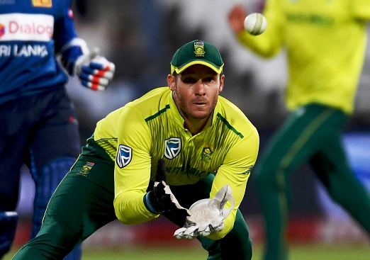 David Miller of South Africa during the 1st KFC T20 International match between South Africa and Sri Lanka at PPC Newlands on March 19, 2019 in Cape Town, South Africa. (Photo by Ashley Vlotman/Gallo Images)