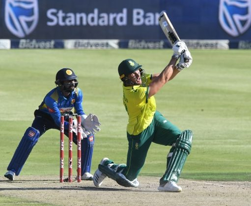 Dwaine Pretorius of the Proteas during the 3rd KFC T20 International match between South Africa and Sri Lanka at Bidvest Wanderers Stadium on March 24, 2019 in Johannesburg, South Africa. (Photo by Lee Warren/Gallo Images)