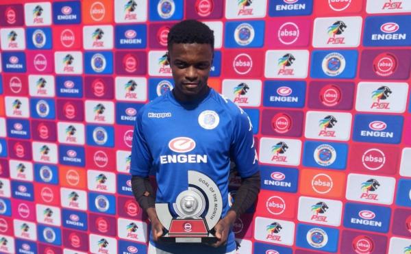 Mokoena scoops PSL Goal of the Month award