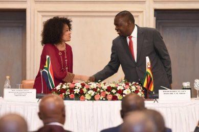 Zimbabwe foreign affairs minister Sibusiso Moyo dies