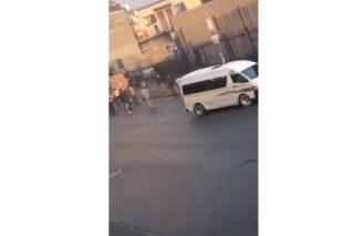 WATCH: Nine gunshots ring out as man killed in apparent hit in Joburg CBD