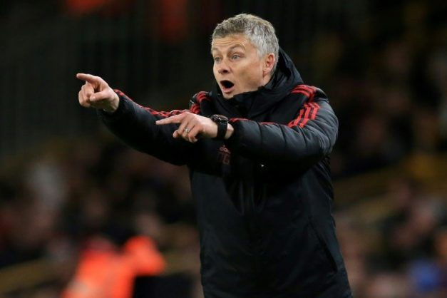 Manchester United have appointed Ole Gunnar Solskjaer as their full-time manager. AFP/File/Lindsey PARNABY
