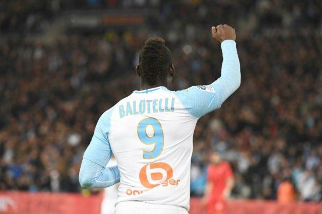 Italian forward Mario Balotelli has become a fans favourite at Marseille . AFP/File/Boris HORVAT