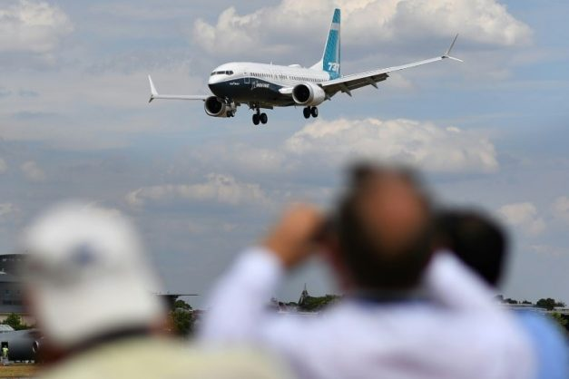Governments around the world are grounding Boeing 737 Max aircraft or barring them from their airspace. AFP/File/BEN STANSALL