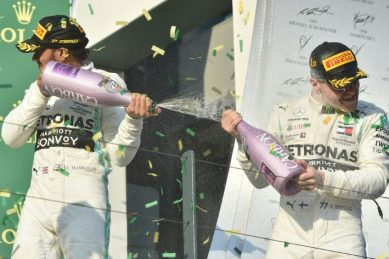 Disappointed Hamilton says race was over by first turn