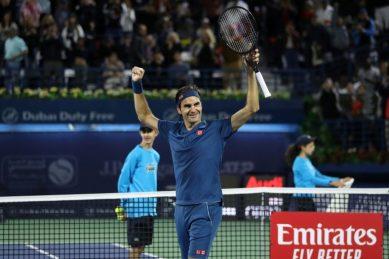 Basking in Federer's glory