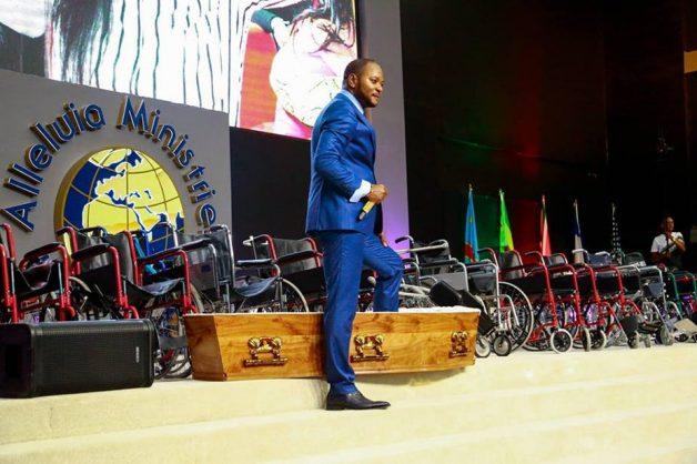 "Pastor Alph Lukau - his ""resurrection"" of a man made world news. Alph Lukau/Facebook"
