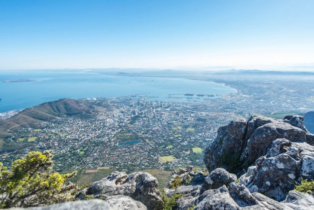 Aerial view of Cape Town from Table Mountain. Image: iStock