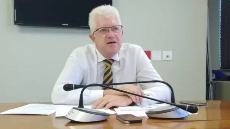 Western Cape premier Alan Winde.