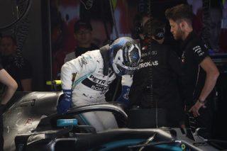 Bottas pips Hamilton for Mercedes lockout at landmark Chinese GP