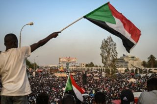 Sudan army ruler says committed to handing over power to civilians