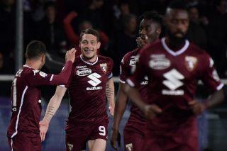 Torino beat Milan for first time since 2001 as Mertens equals Maradona